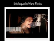 Waka Flocka inside the vocal booth inside the World Famous Platinum Suite